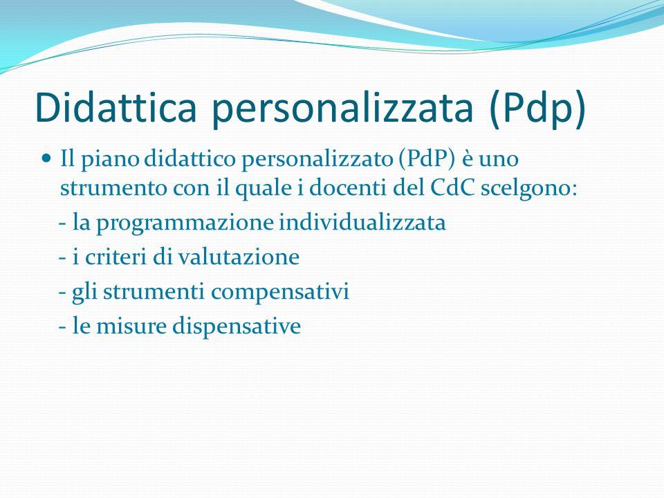 Didattica personalizzata (Pdp)