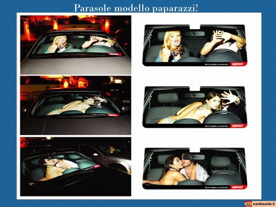 Parasole modello paparazzi!