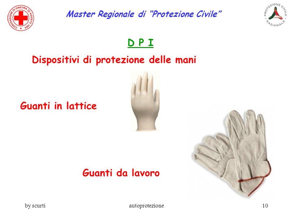 Master Regionale di Protezione Civile