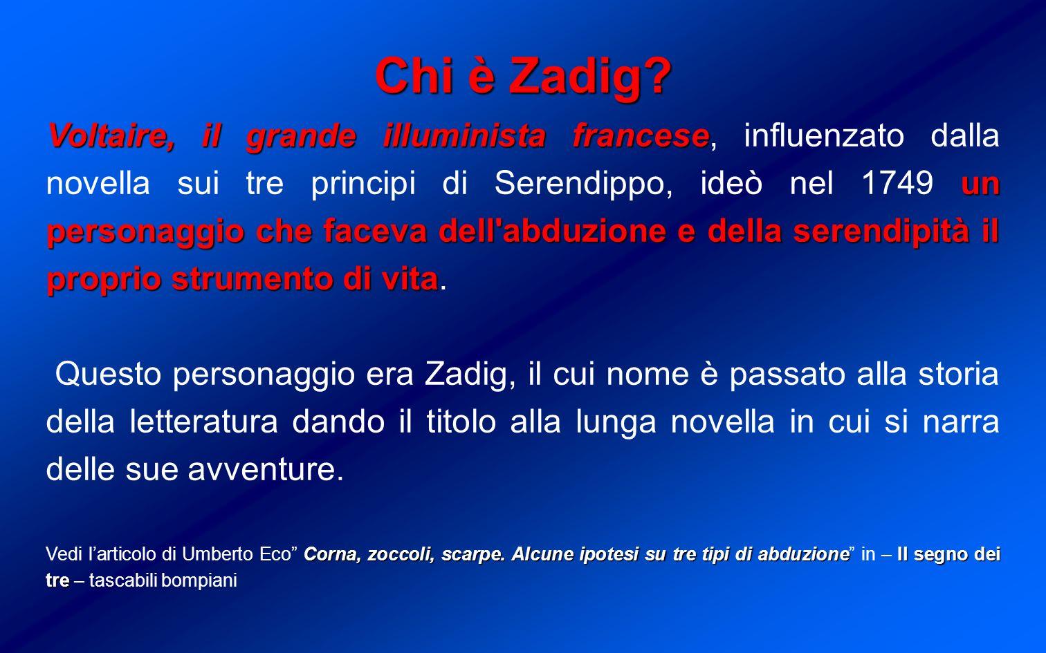 Chi è Zadig