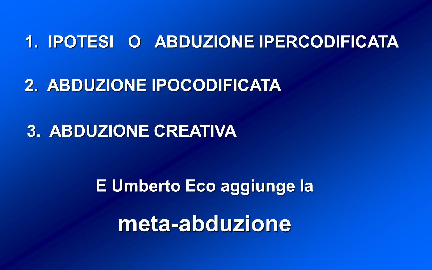 E Umberto Eco aggiunge la