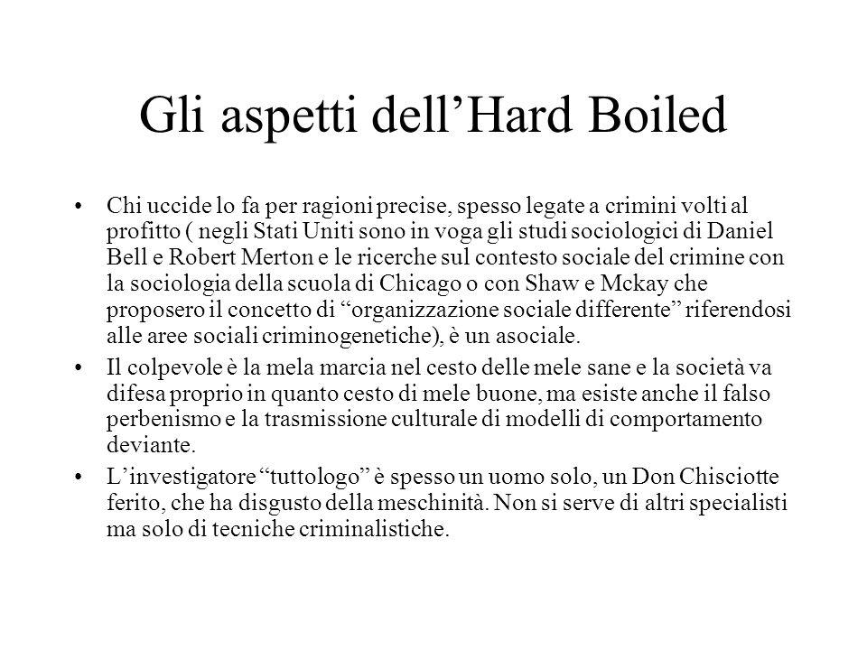 Gli aspetti dell'Hard Boiled