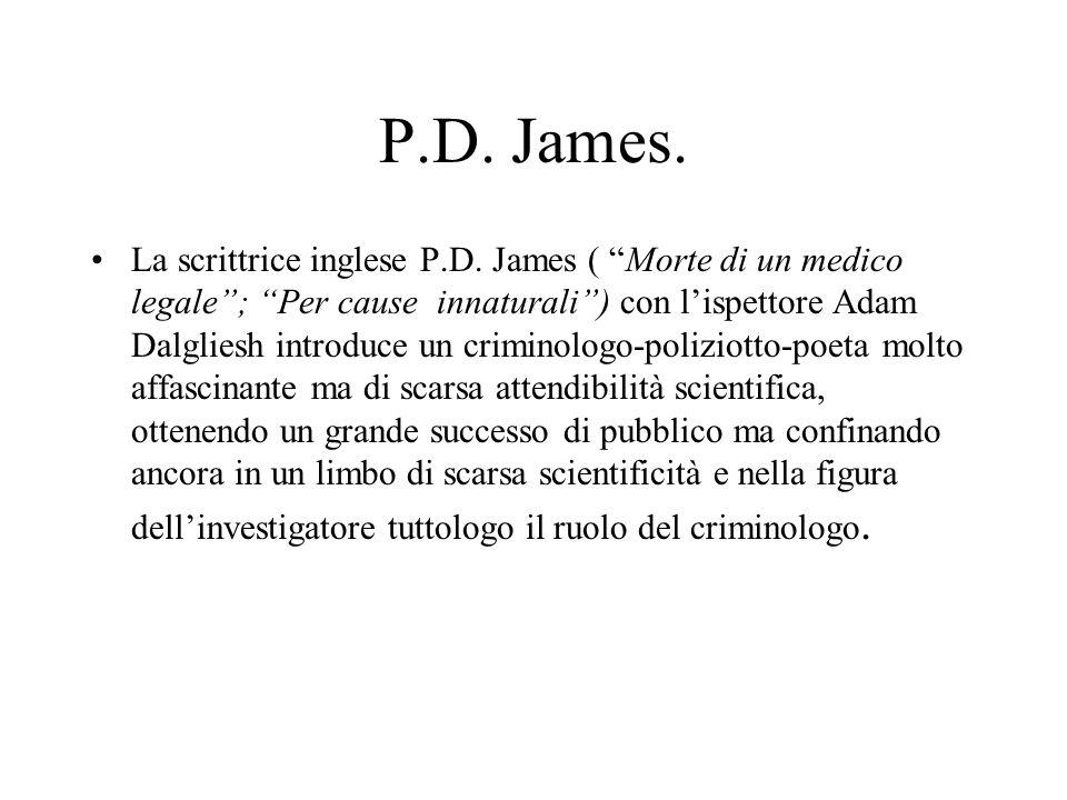 P.D. James.