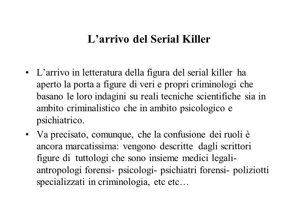 L'arrivo del Serial Killer