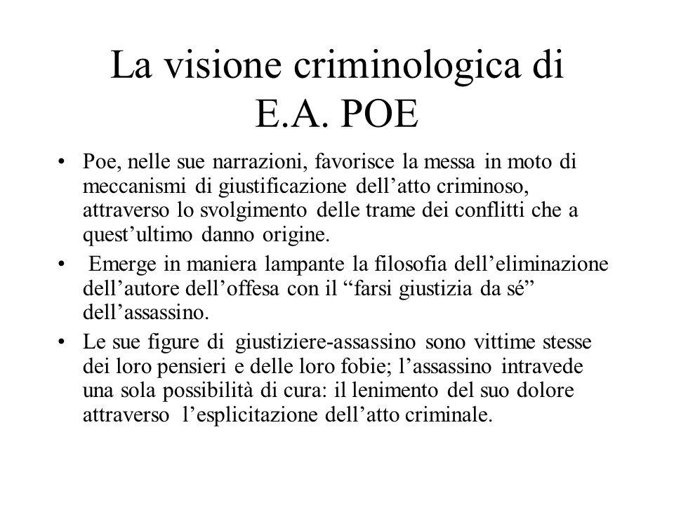 La visione criminologica di E.A. POE