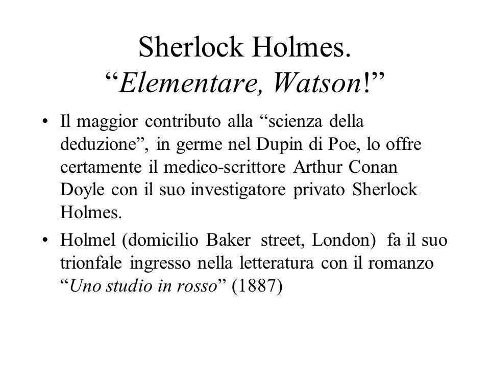 Sherlock Holmes. Elementare, Watson!