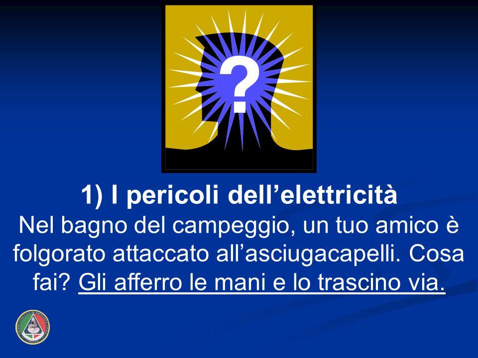 1) I pericoli dell'elettricità