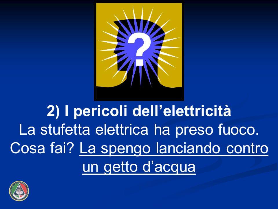 2) I pericoli dell'elettricità