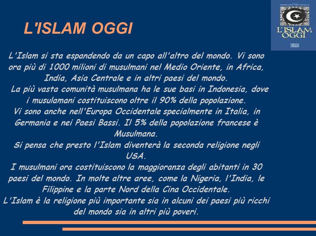 Si pensa che presto l Islam diventerà la seconda religione negli USA.