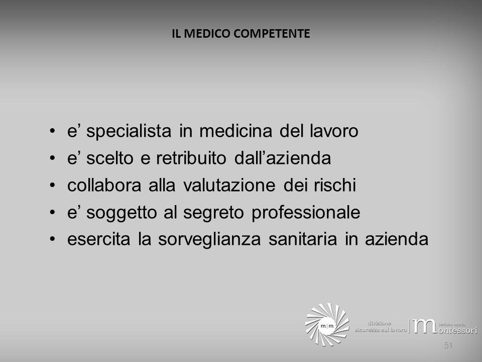 e' specialista in medicina del lavoro