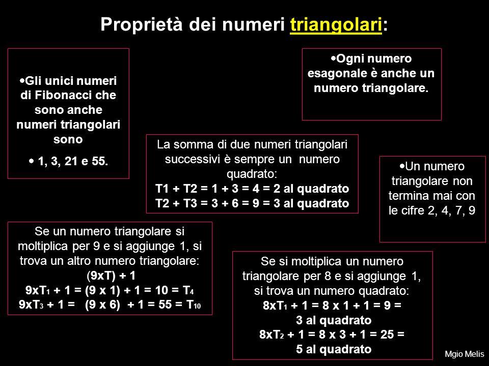 Gli unici numeri di Fibonacci che sono anche numeri triangolari sono