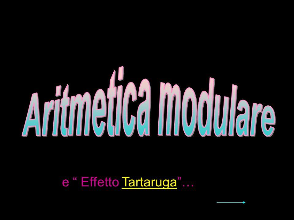 Aritmetica modulare e Effetto Tartaruga …