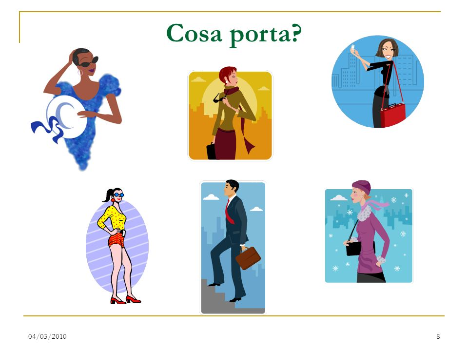 Cosa porta 04/03/2010
