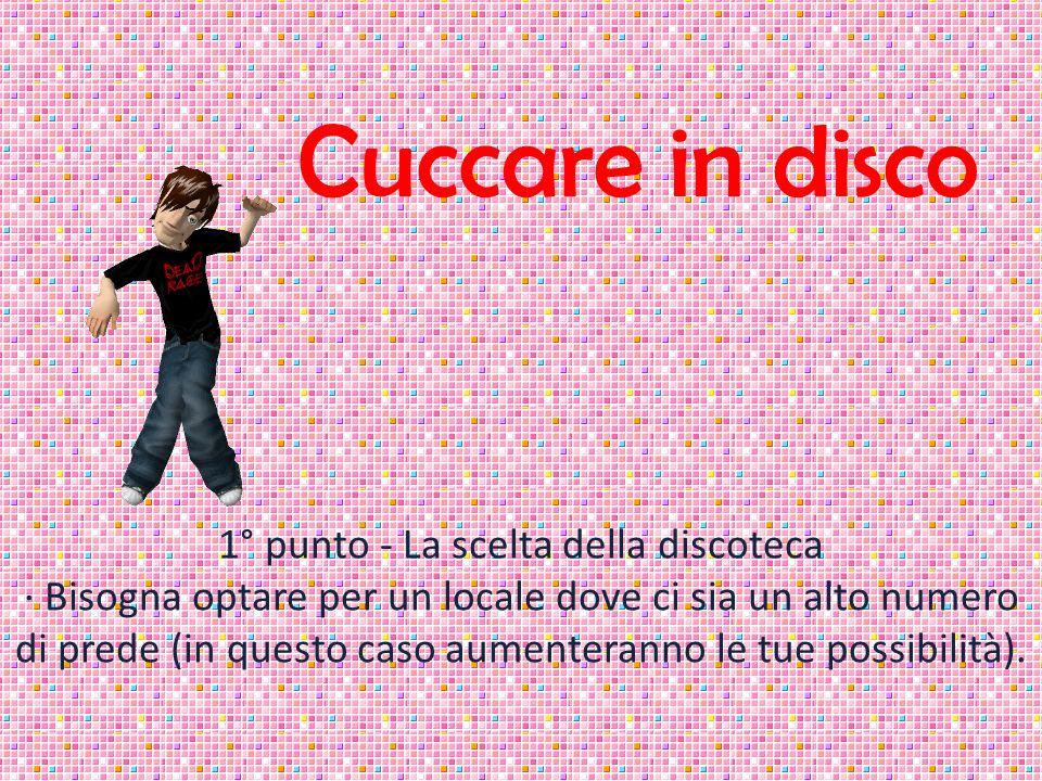 Cuccare in disco