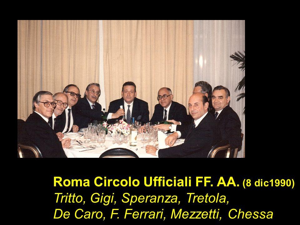 Roma Circolo Ufficiali FF. AA. (8 dic1990)