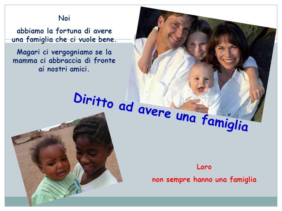Diritto ad avere una famiglia