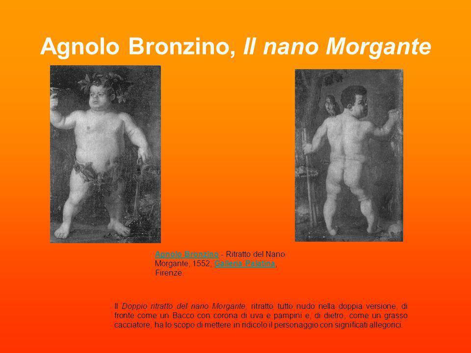 Agnolo Bronzino, Il nano Morgante