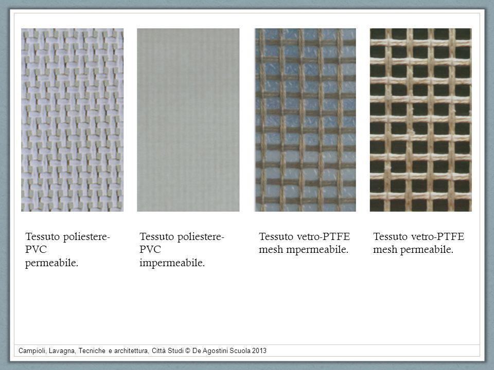 Tessuto poliestere-PVC