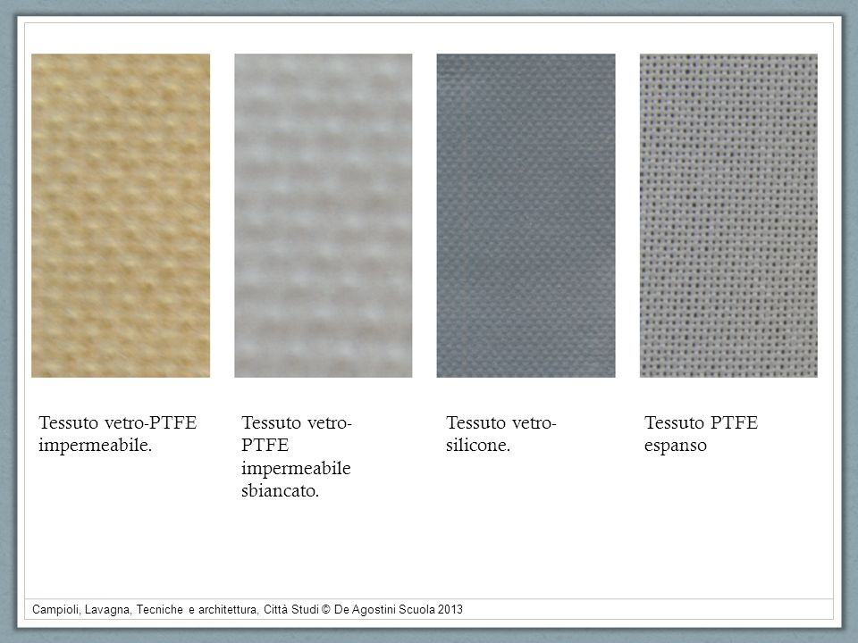 Tessuto vetro-PTFE impermeabile. Tessuto vetro-PTFE. impermeabile sbiancato. Tessuto vetro-silicone.