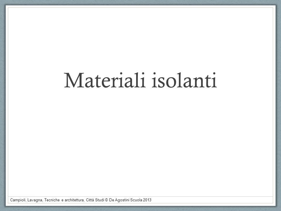 Materiali isolanti