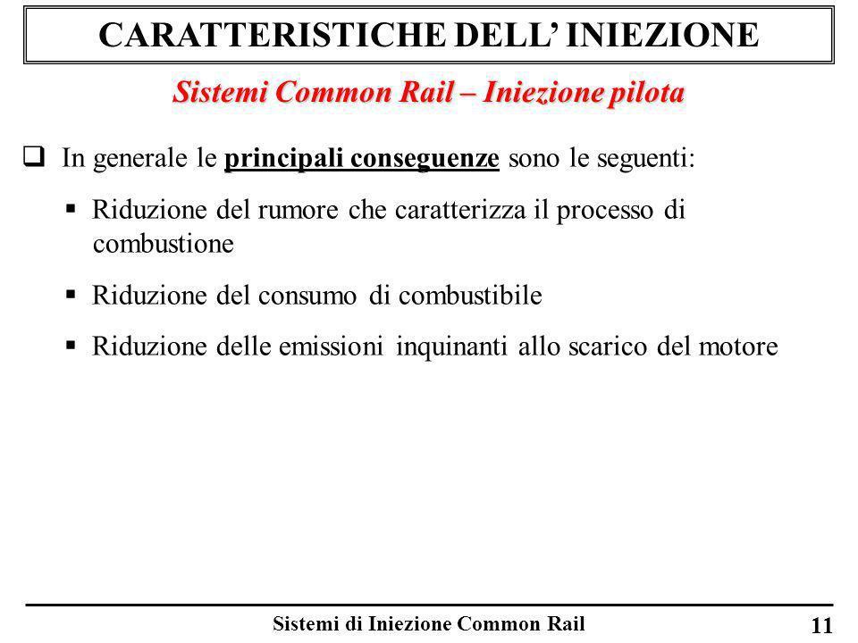 CARATTERISTICHE DELL' INIEZIONE