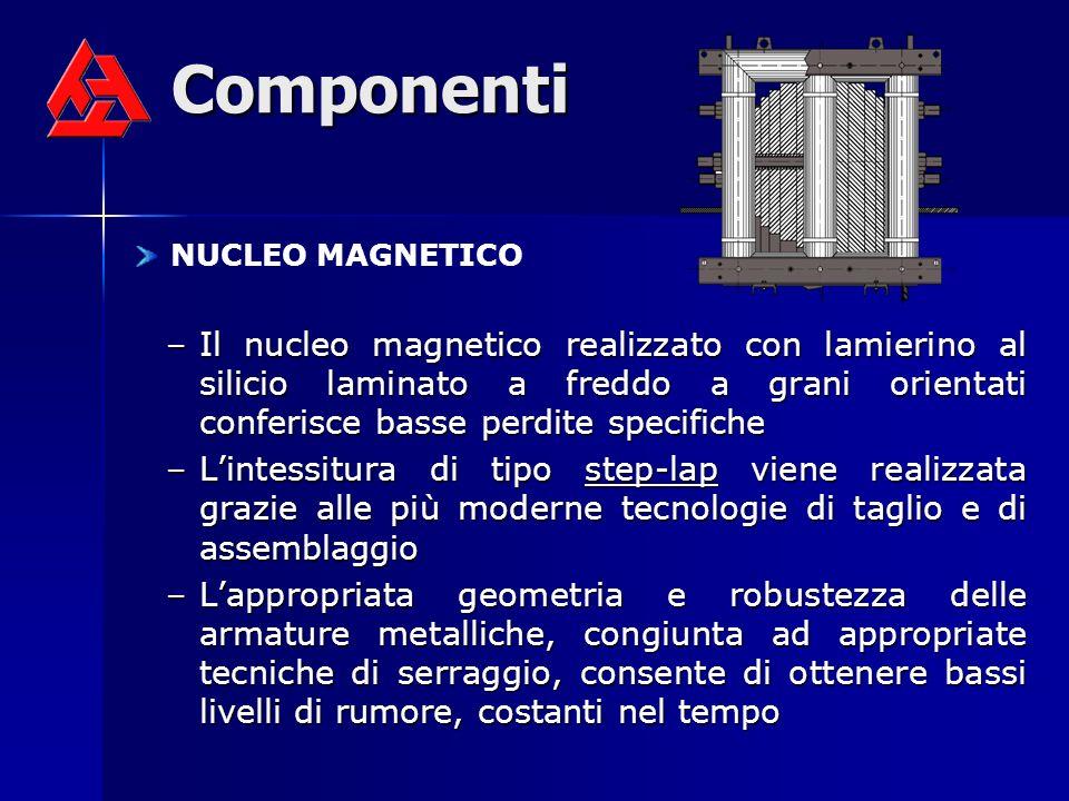 Componenti NUCLEO MAGNETICO.