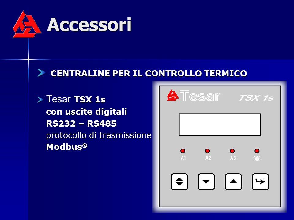 Accessori CENTRALINE PER IL CONTROLLO TERMICO Tesar TSX 1s