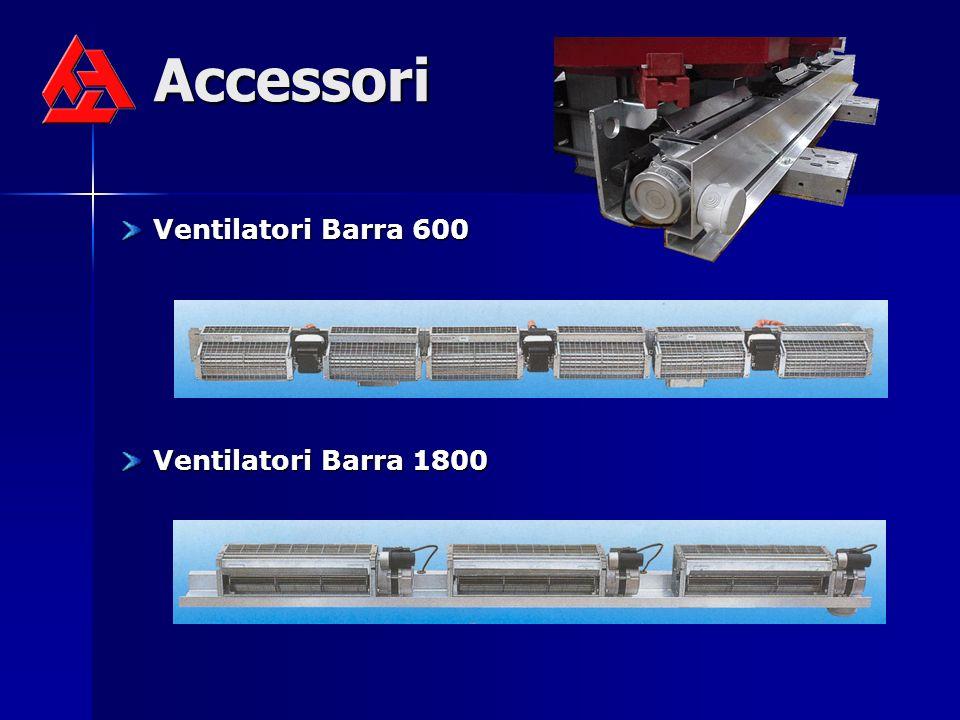 Accessori Ventilatori Barra 600 Ventilatori Barra 1800