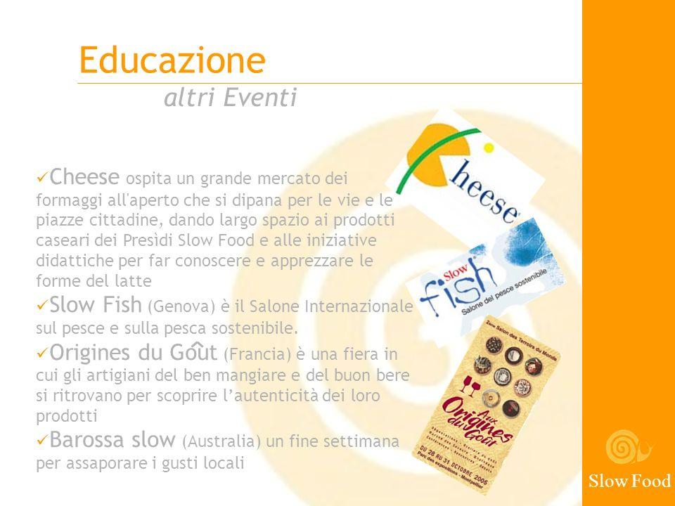 Educazione altri Eventi Slow Food