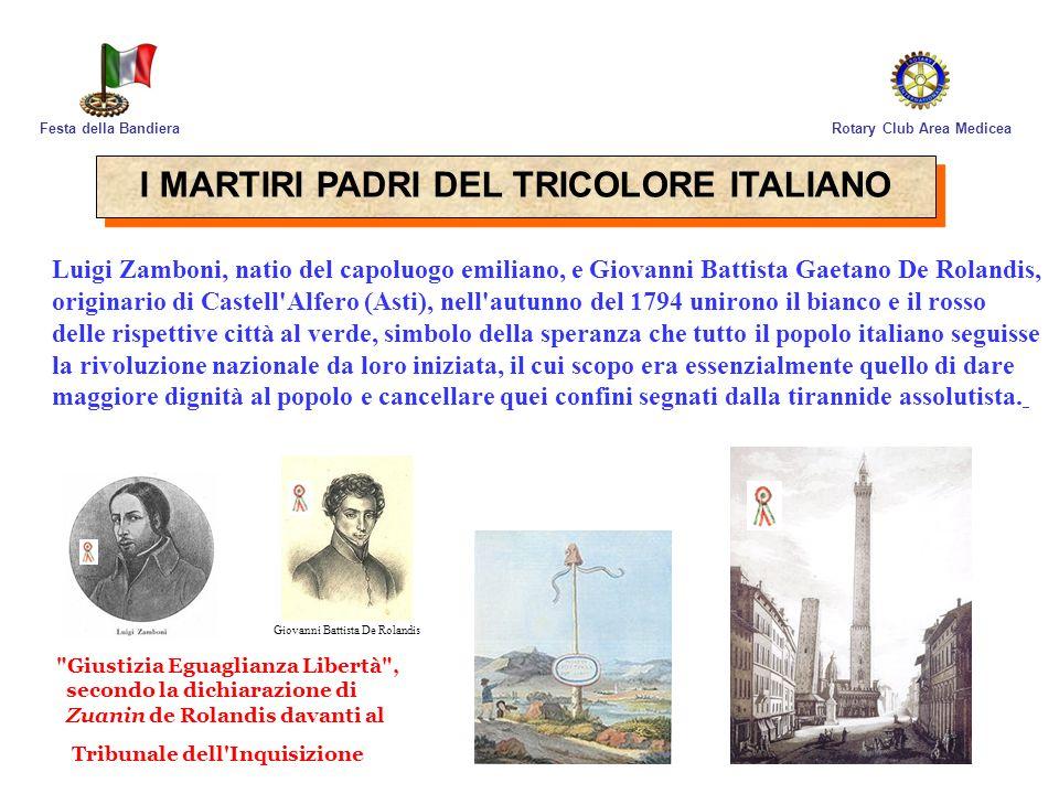 I MARTIRI PADRI DEL TRICOLORE ITALIANO
