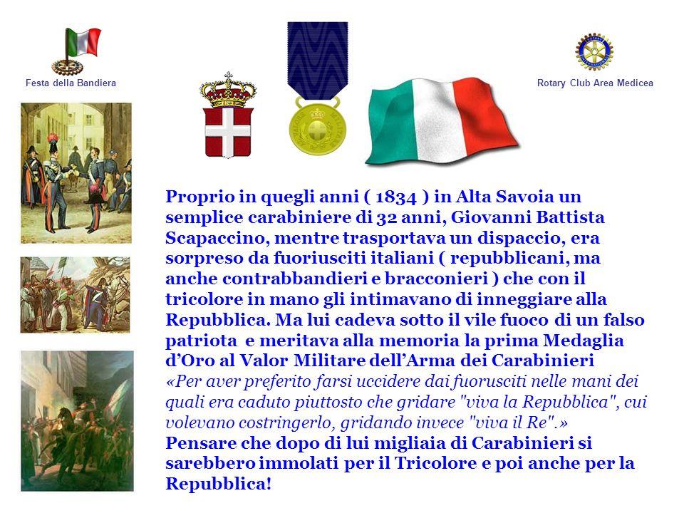 Festa della Bandiera Rotary Club Area Medicea.