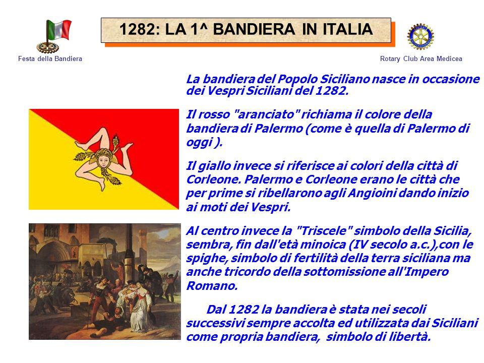 1282: LA 1^ BANDIERA IN ITALIA