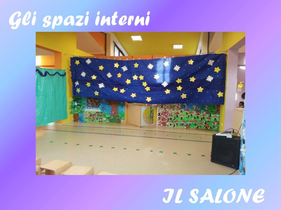 Gli spazi interni IL SALONE