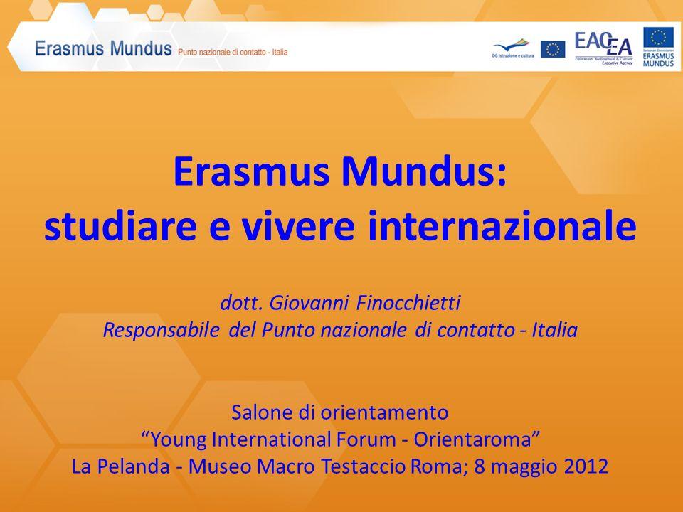 1. Il Programma Erasmus Mundus