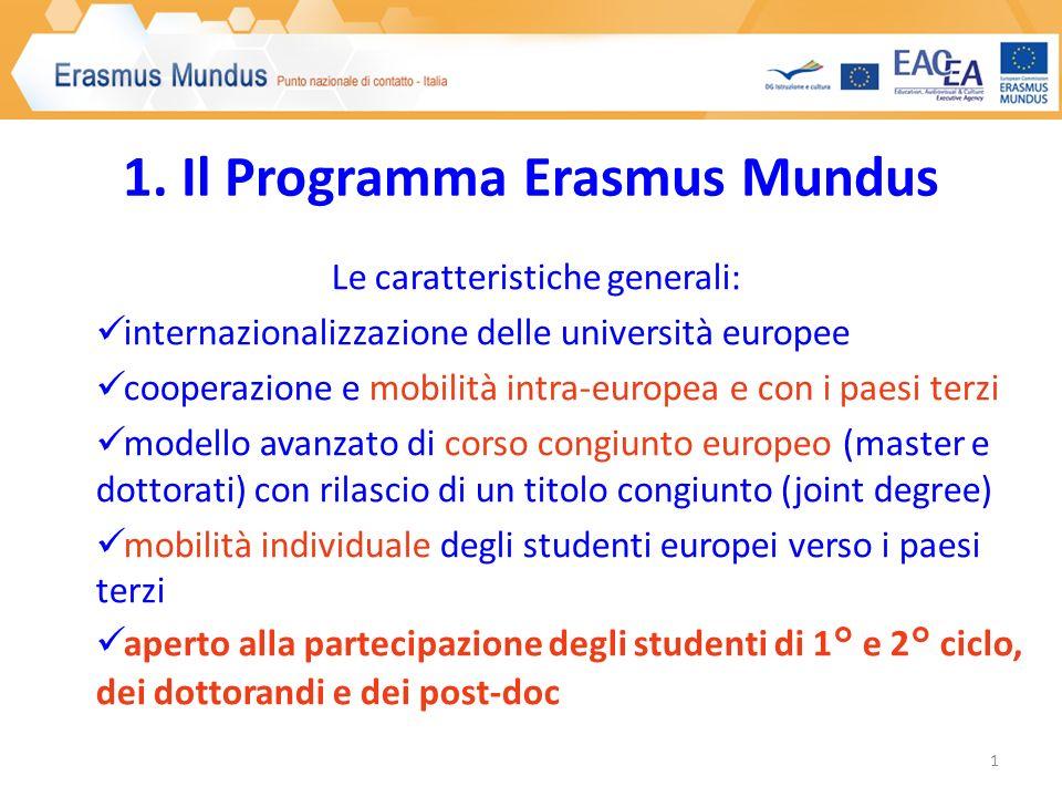 2. Erasmus Mundus per gli studenti