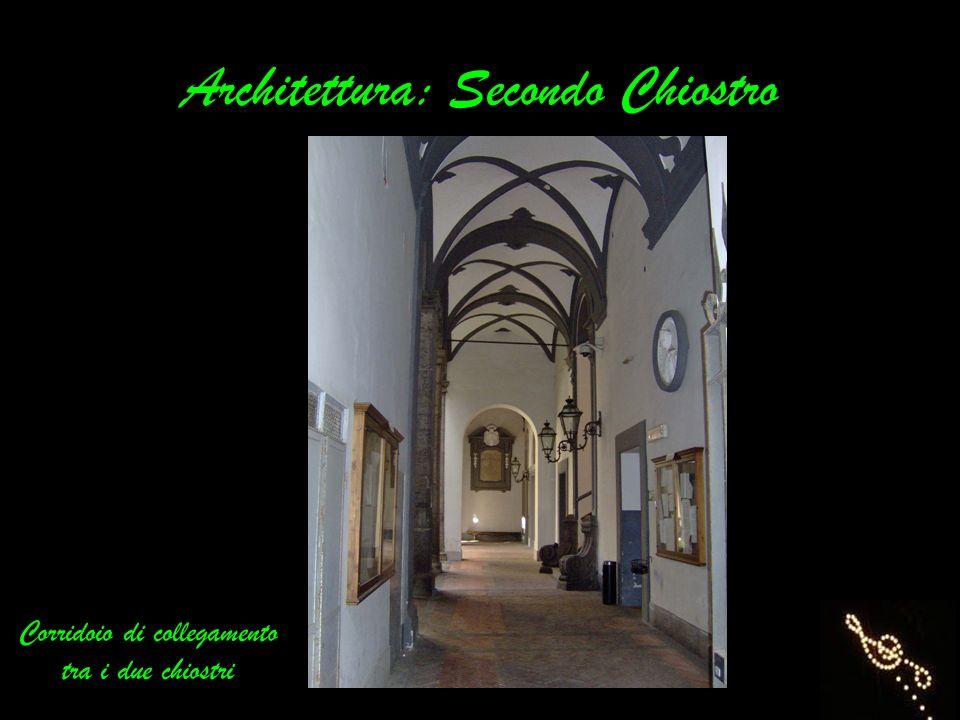 Architettura: Secondo Chiostro
