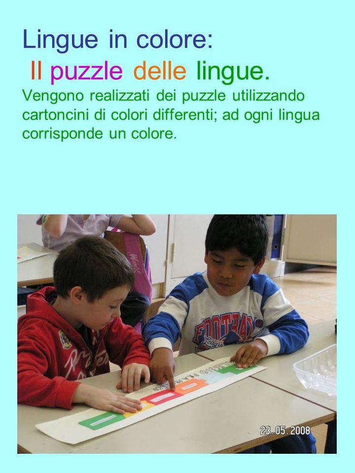 Lingue in colore: Il puzzle delle lingue