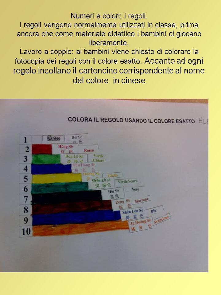 Numeri e colori: i regoli