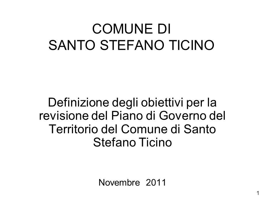 COMUNE DI SANTO STEFANO TICINO
