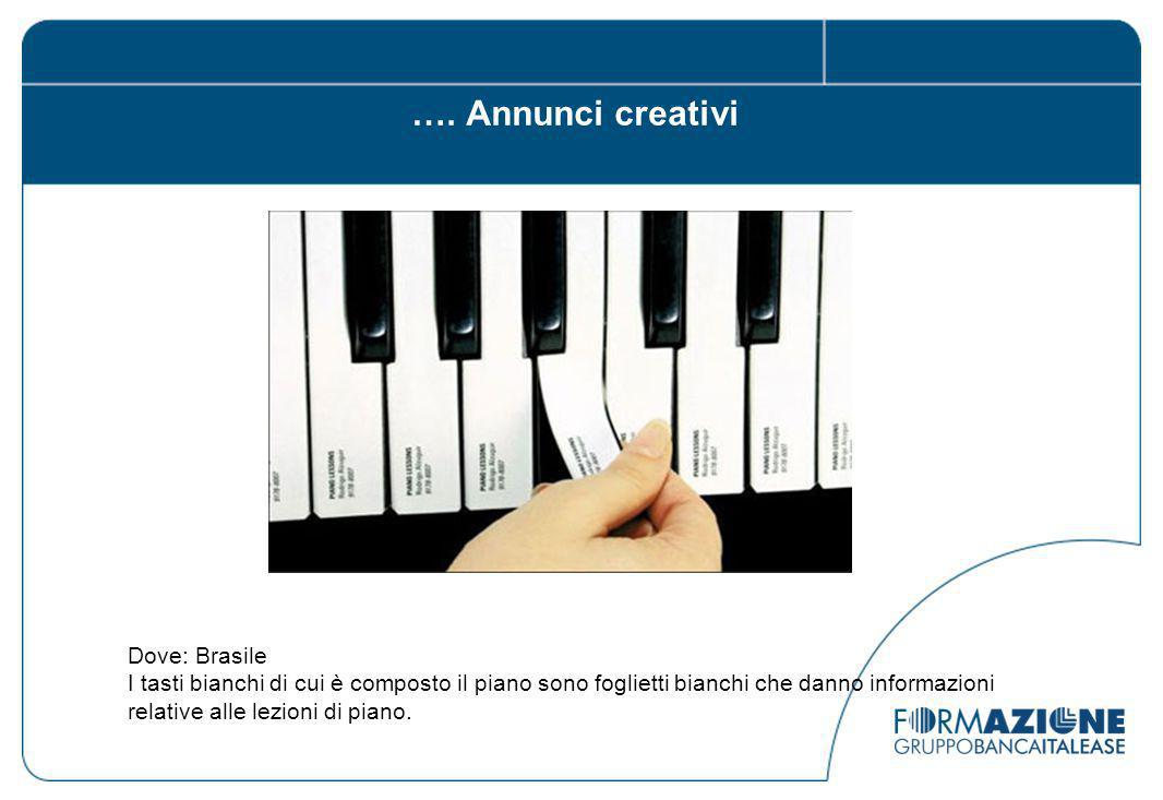 …. Annunci creativi