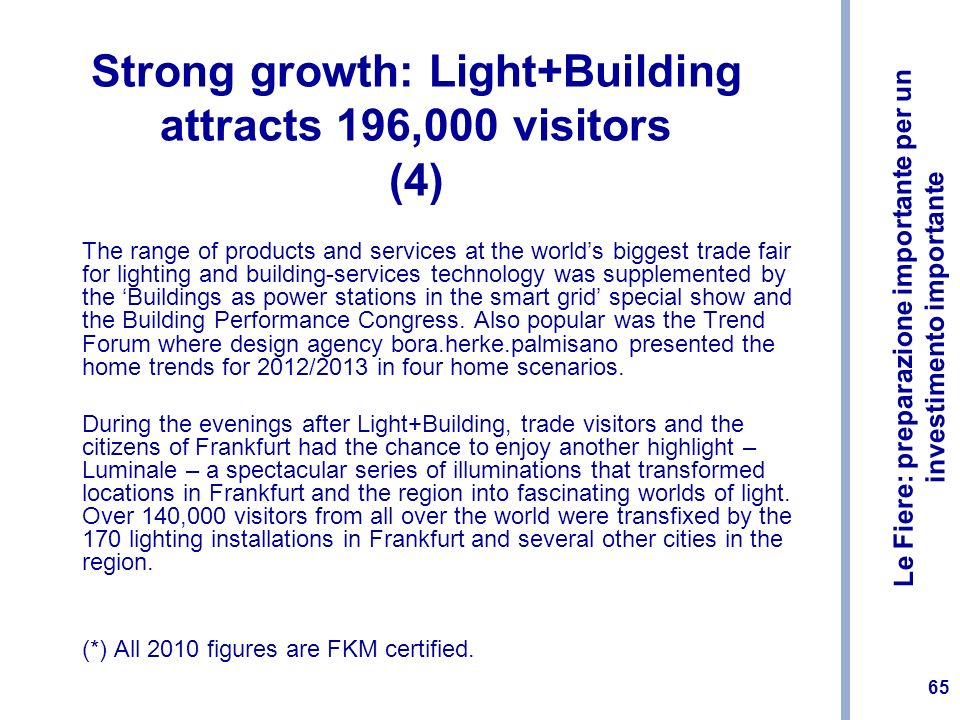 Strong growth: Light+Building attracts 196,000 visitors (4)
