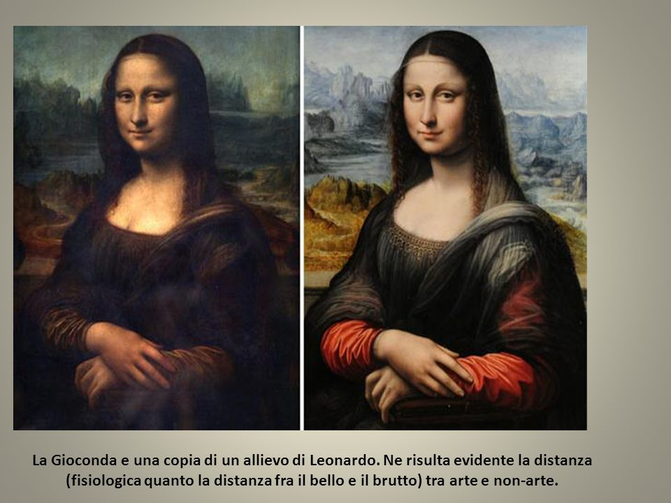 La Gioconda e una copia di un allievo di Leonardo