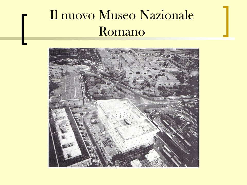 Il nuovo Museo Nazionale Romano