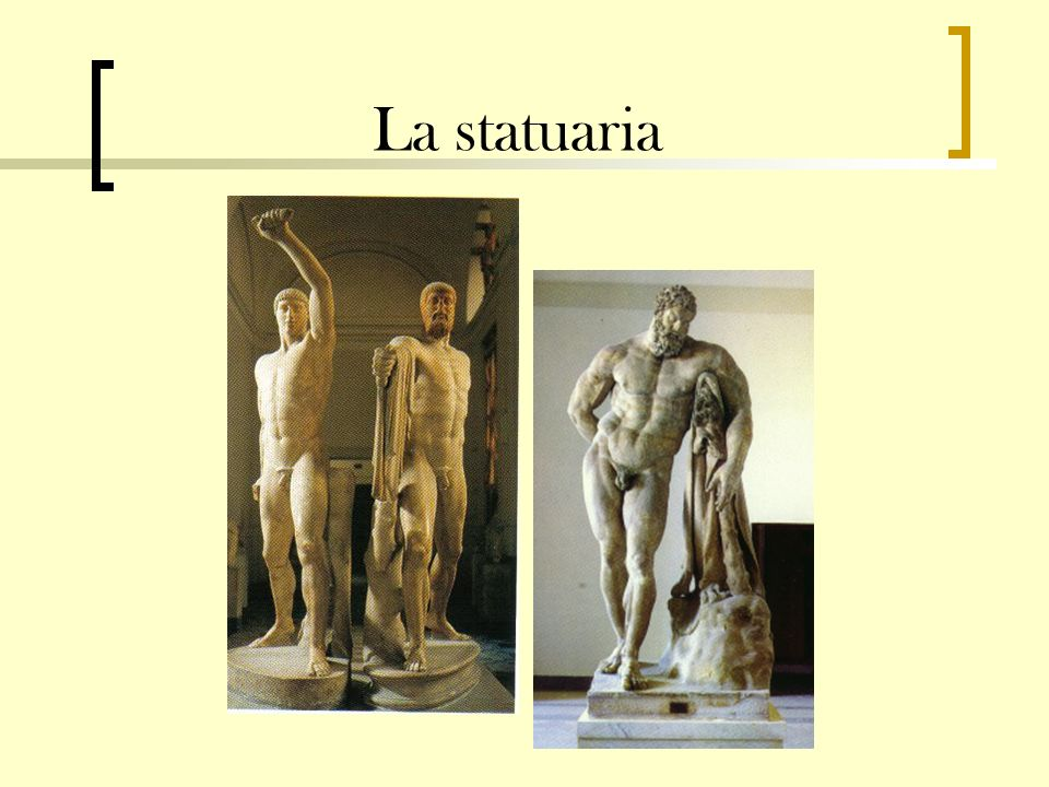 La statuaria