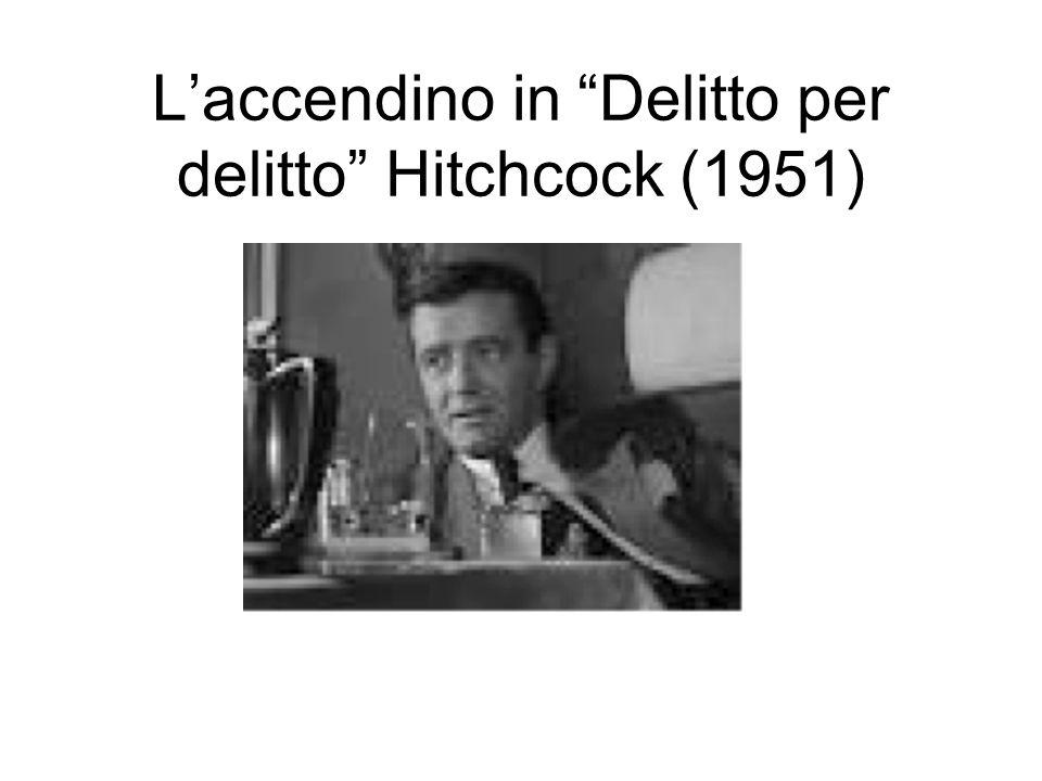 L'accendino in Delitto per delitto Hitchcock (1951)