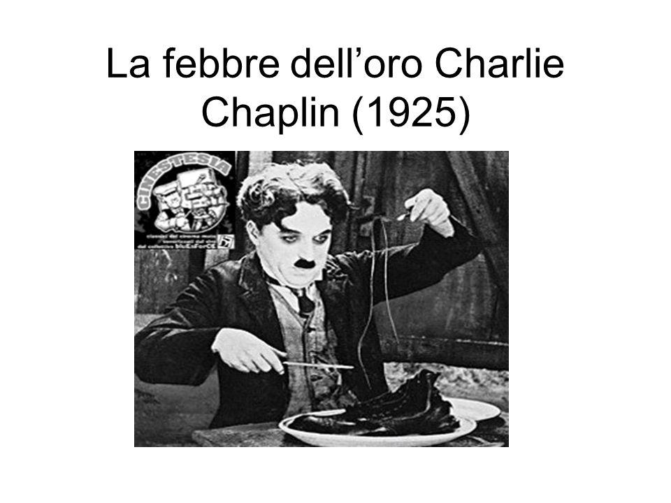 La febbre dell'oro Charlie Chaplin (1925)
