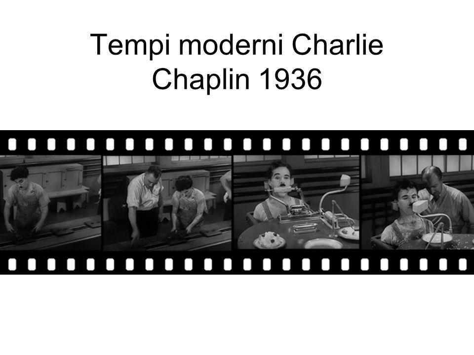 Tempi moderni Charlie Chaplin 1936