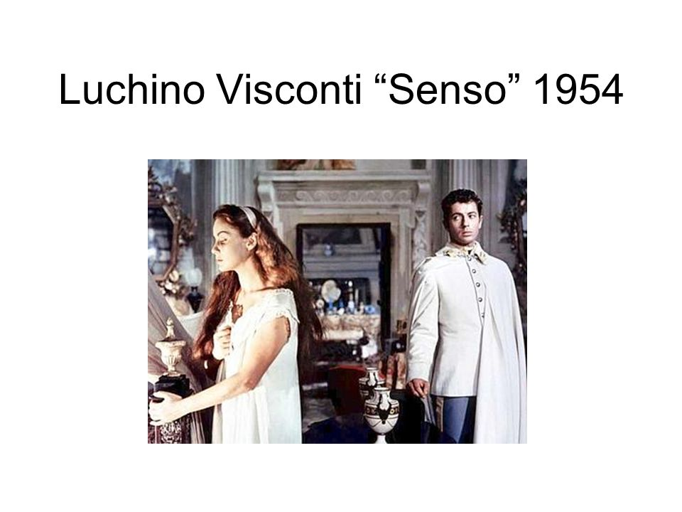 Luchino Visconti Senso 1954