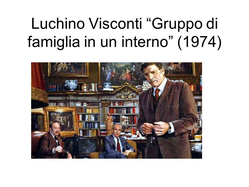 Luchino Visconti Gruppo di famiglia in un interno (1974)