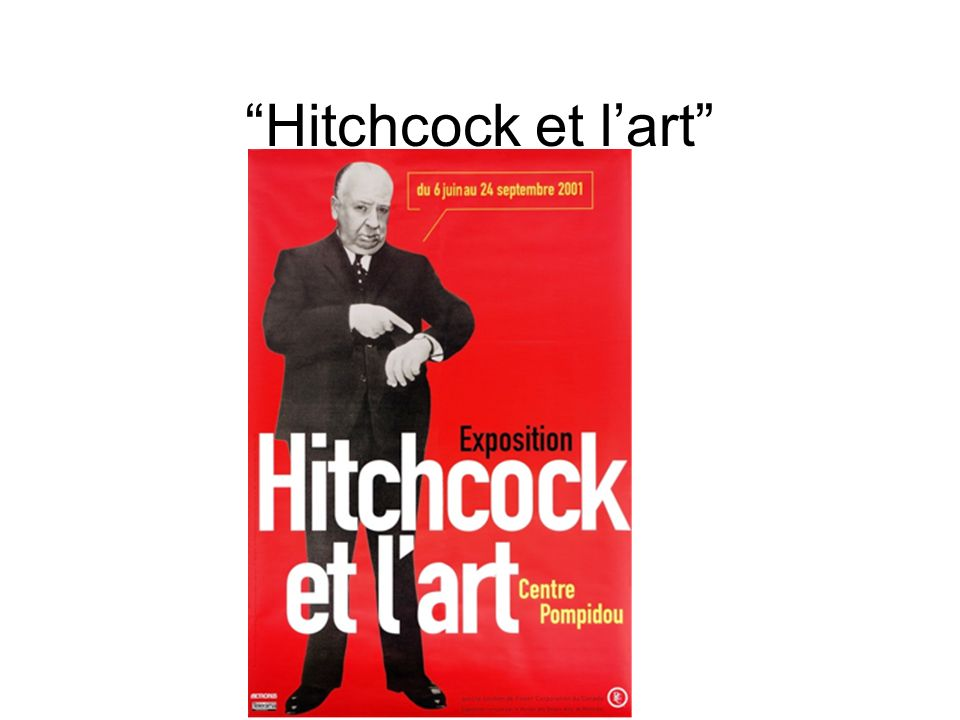 Hitchcock et l'art